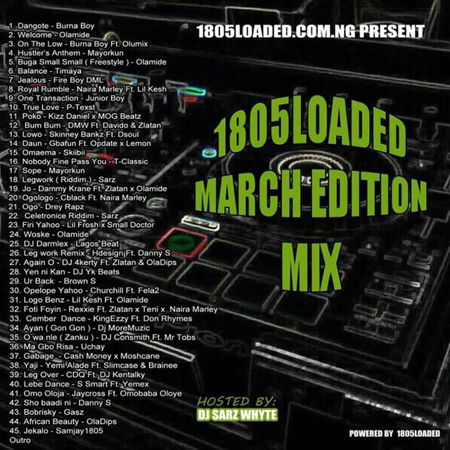 Dj Sars White – 1805loaded MMTs Vol.7