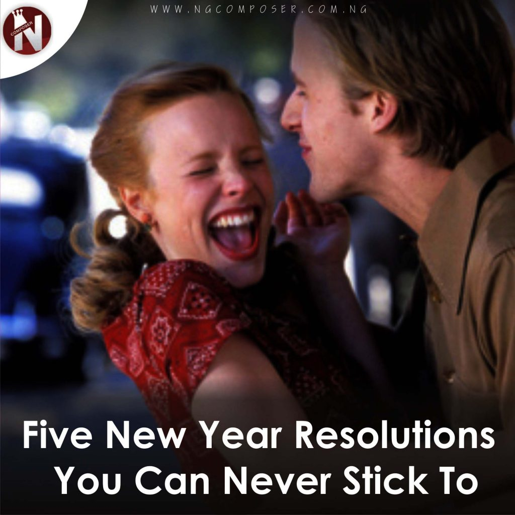 Five New Year Resolutions You Can Never Stick To