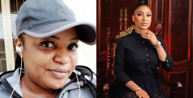 Funke Adesiyan fires back at Tonto Dikeh, calls her a depressed woman