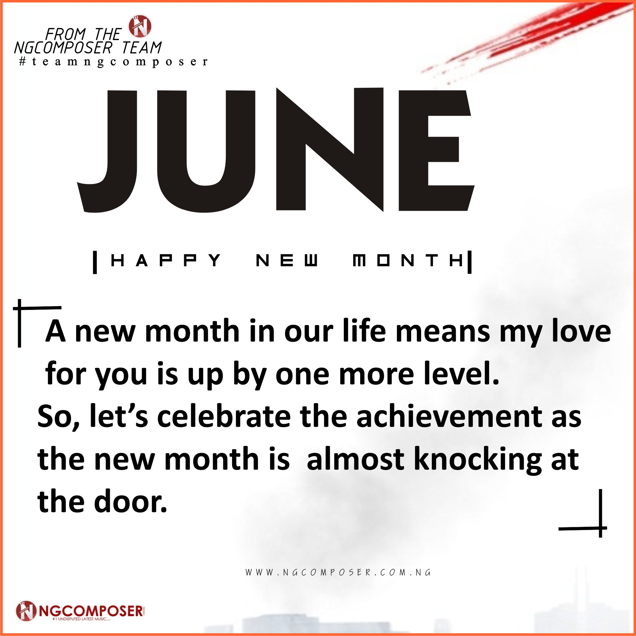 Happy New Month Famz!!, Here Is Our Wishes For You
