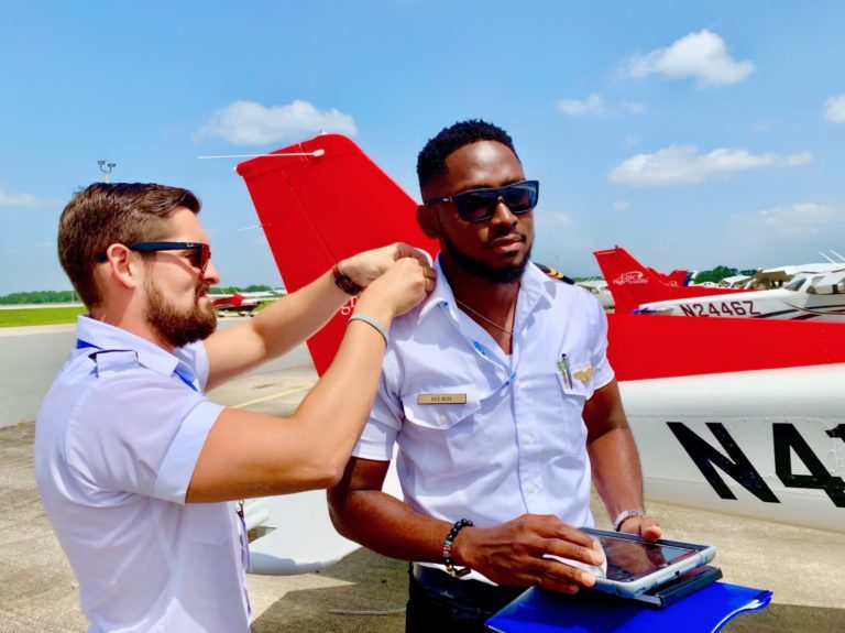 #BBNAIJA: Miracle Certified As An Instrument Rated Pilot