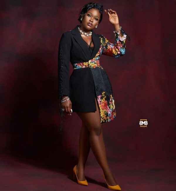 Cee-C Stuns In New Cleavage Barring Outfit