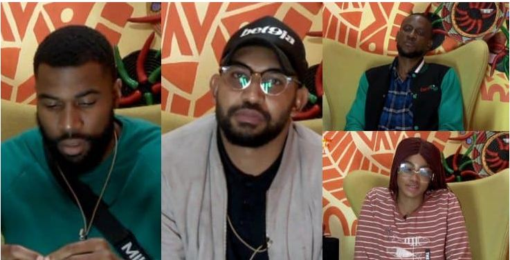 BBNaija 2019: Mike, Jeff, Omashola, and Tacha nominated for eviction (Check Details)