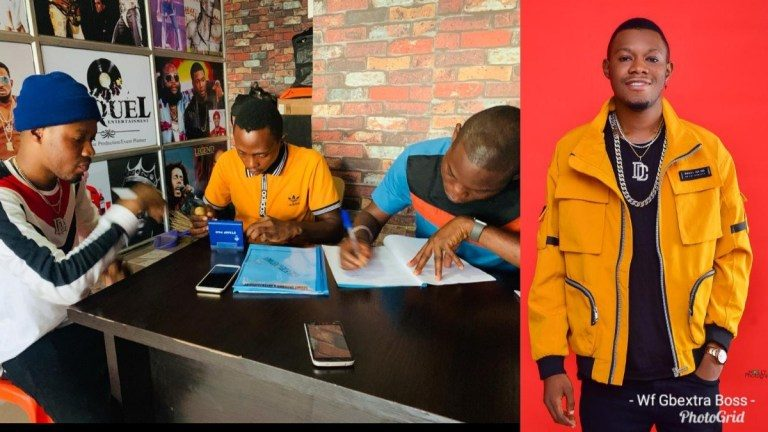 Sequel Records Sign Talented Rapper, RapJazzy To Its Imprint (Photos)