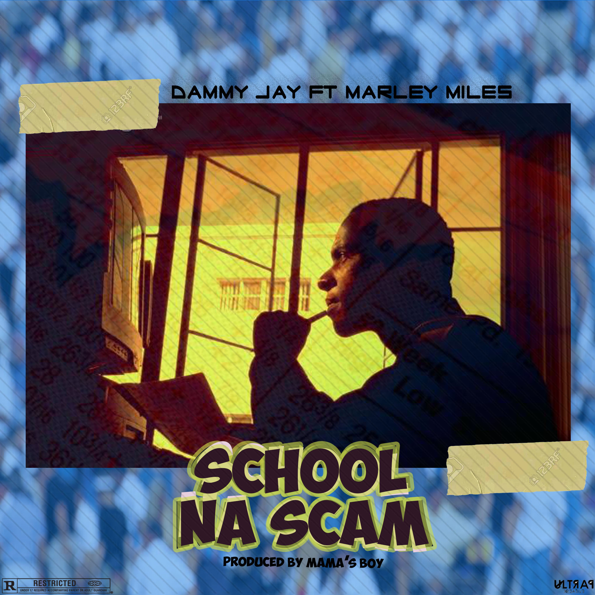 Dammy Jay Ft Marley Miles - School Na Scam