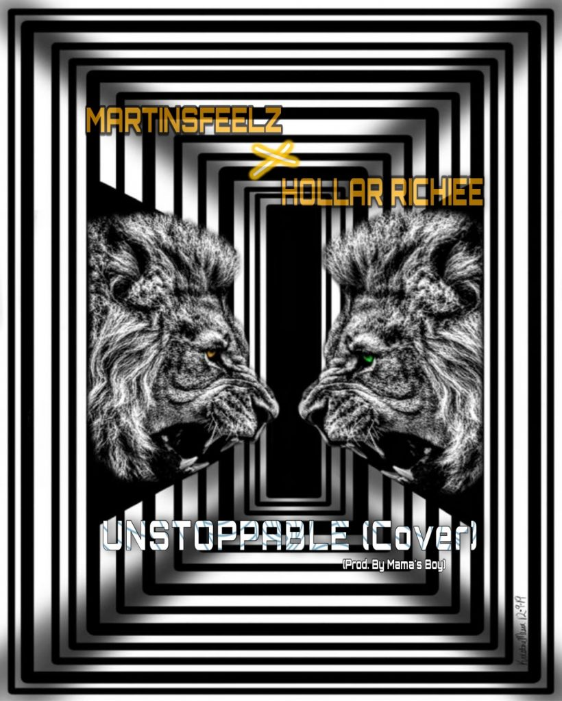 Hollar Richiee - Unstoppable Cover