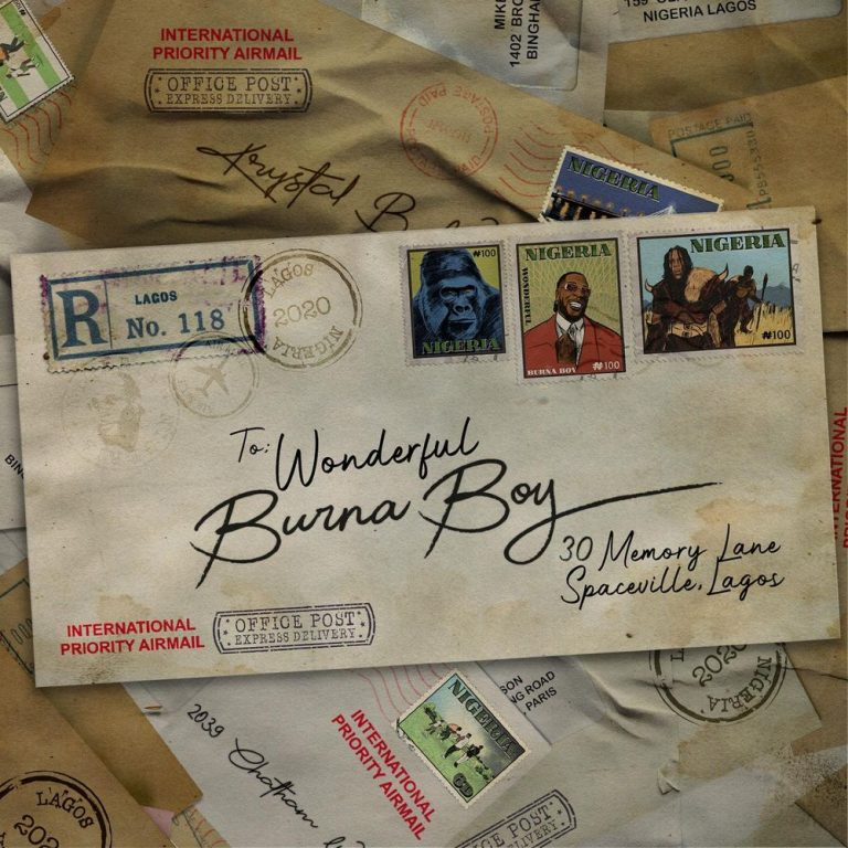 Burna Boy - Be Wonderful