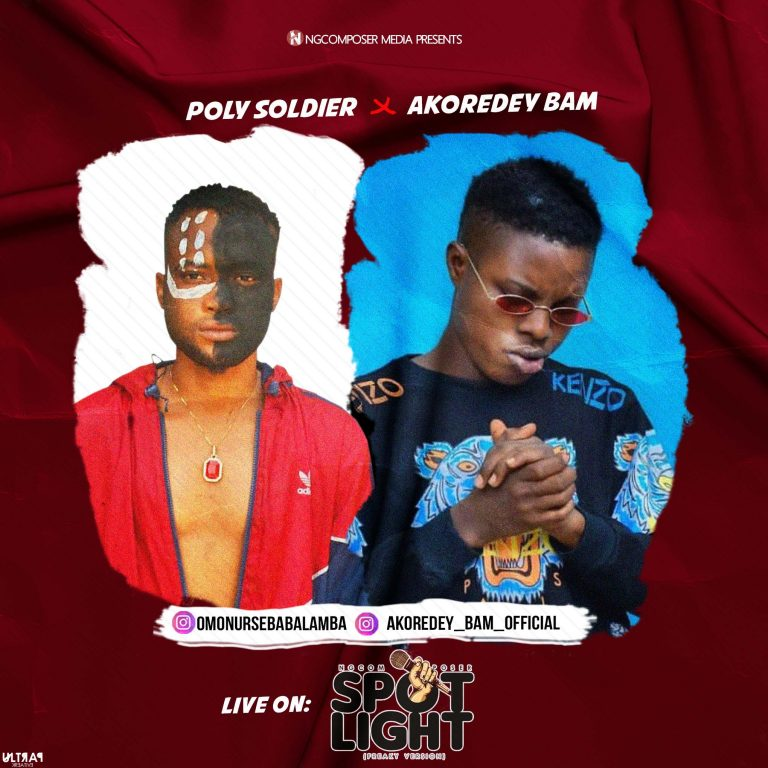 RAP BATTLE: Poly Soldier Vs Akoredey Bam On Spotlight, Who Is Your Winner In This Hot Rap Battle?