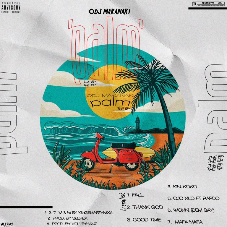 DOWNLOAD EP: Odj Makanaki – Palm (The Ep)