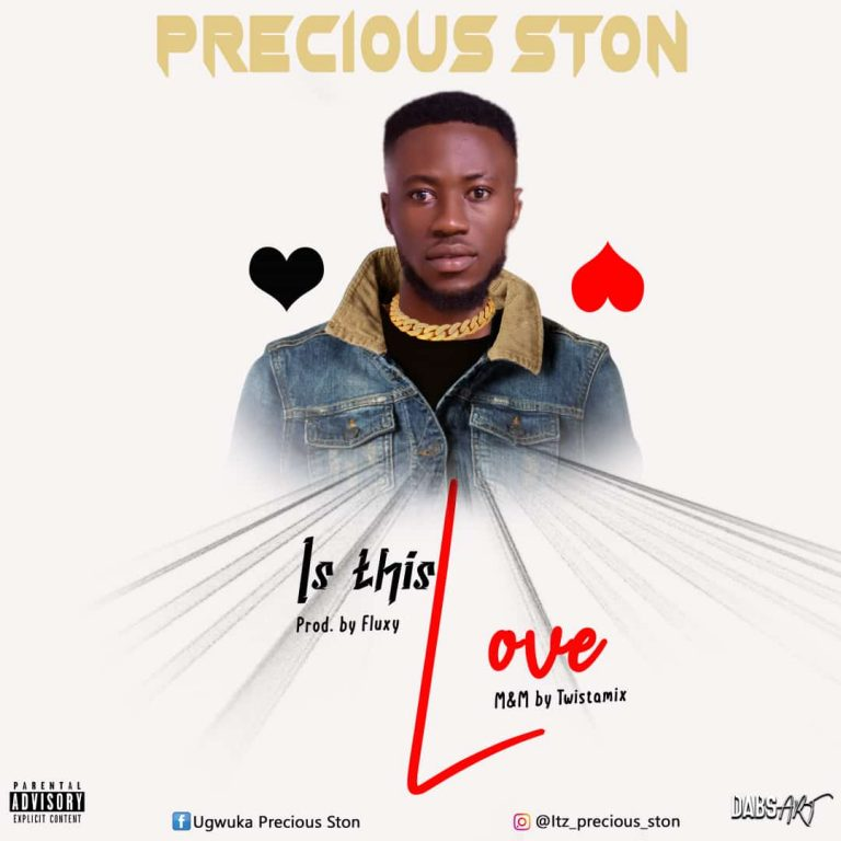 MUSIC: Precious Ston – Is This Love (Prod. by Fluxy)